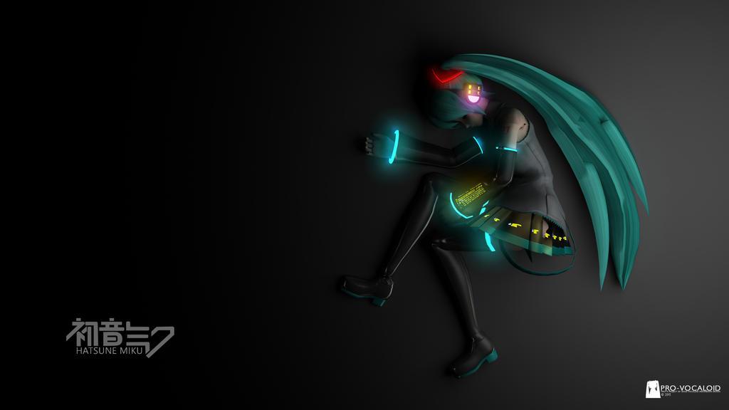 Hatsune Miku 3D by kurorofikkykakao