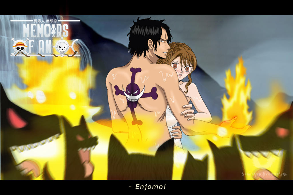 One Piece Marco X Ace One Piece FF  Fuu X Ace Wolves