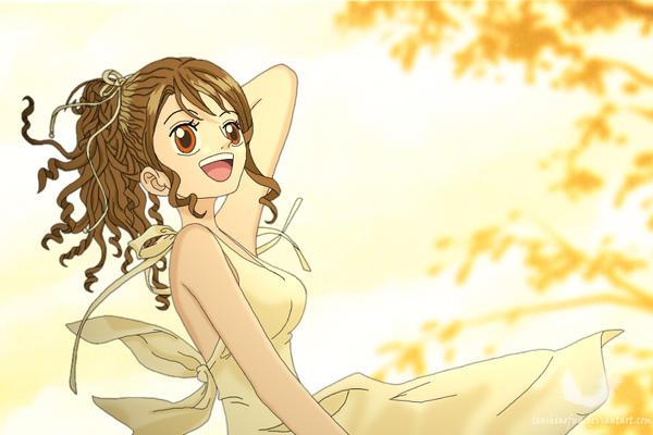 One Piece OC - Fuu Sunshine by TenshiNoFuu