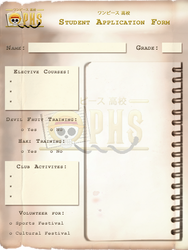 OPHS - Chara Profile Template STUDENT by TenshiNoFuu