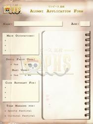 OPHS - Chara Profile Template ALUMNI by TenshiNoFuu