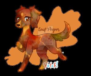 Fetch! Leaf Peeper