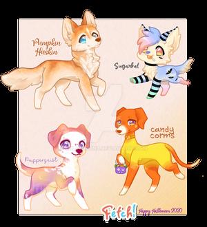 Fetch: Hallow Pups dump