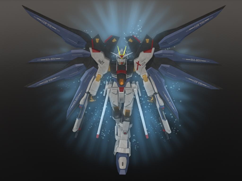 Gundam Strike Freedom by maverick8