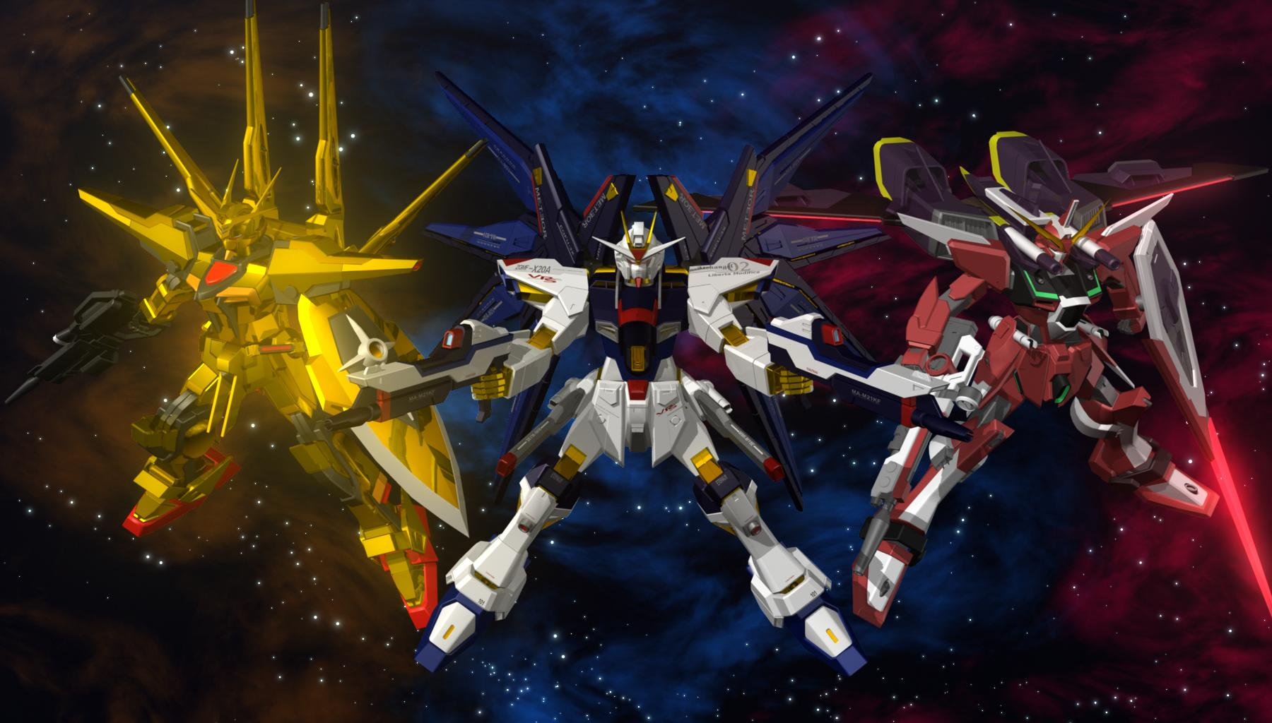 Gundam freedom and justice