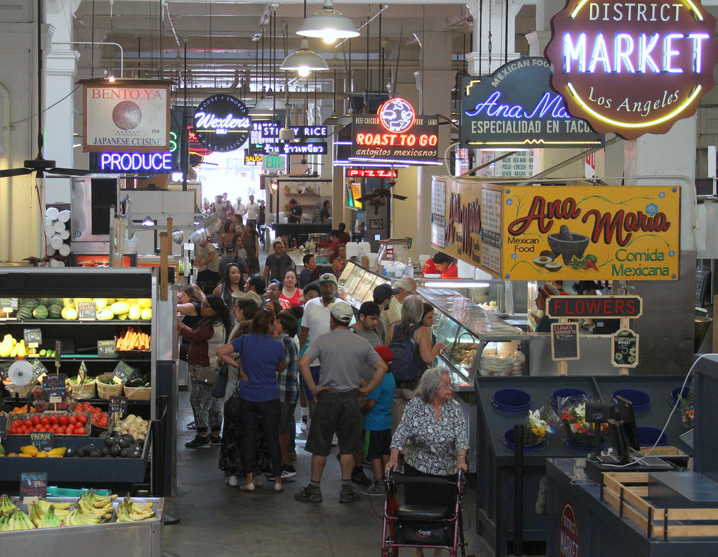 Central Market by WmBCrawford