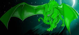 Velanith- Pernese Dragon by NepherimCrystal