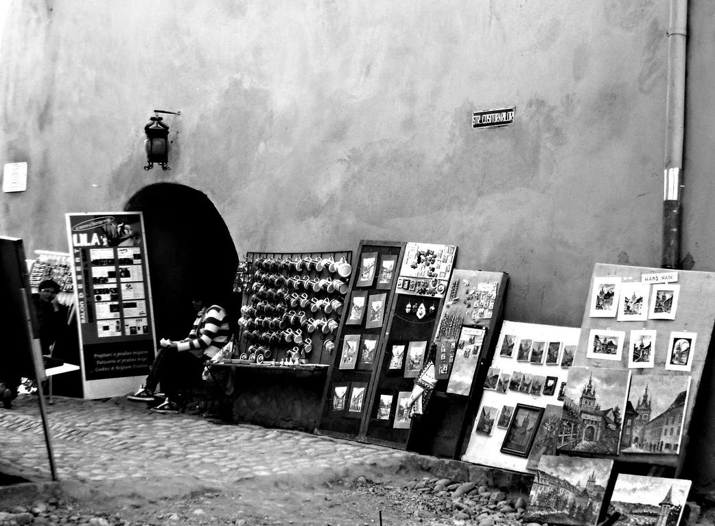 Sighisoara art by raven30hell