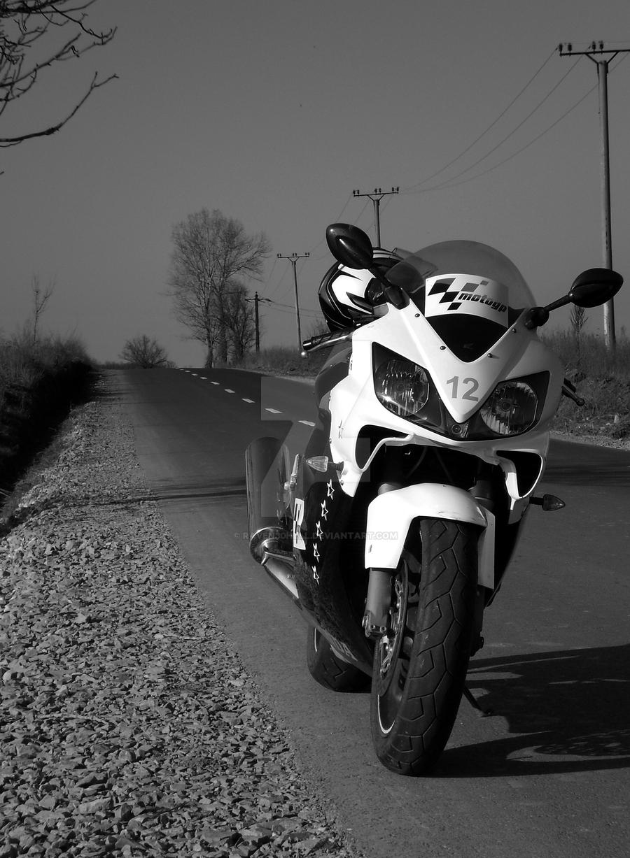 Honda CBR600f4i by raven30hell