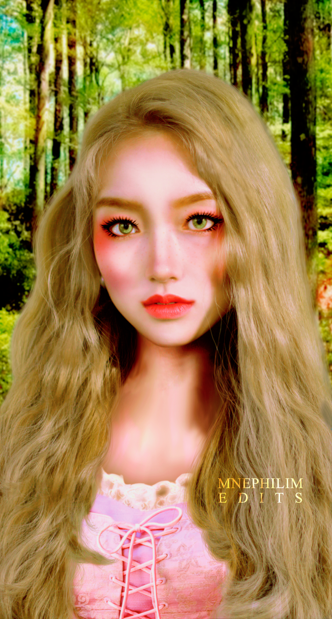 01 LOONA Edition GoWon 'Rapunzel' by MNephilim by mnephilim