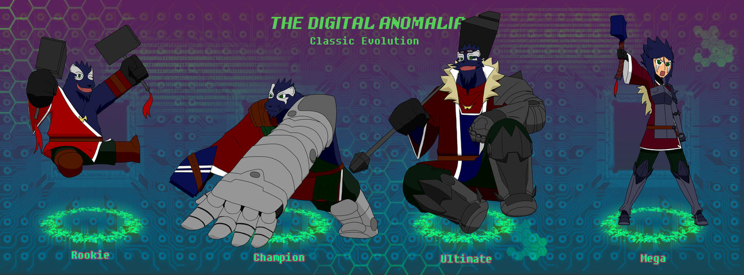 TDA-Digivolution line: Flint by SquirrelManiak