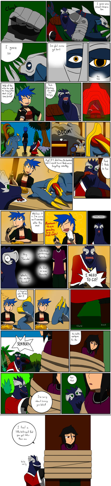 TDA Event 1: Battle of Fire and Water part 12 by SquirrelManiak