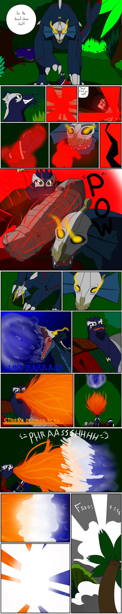 TDA Event 1: Battle of Fire and Water part 10 by SquirrelManiak