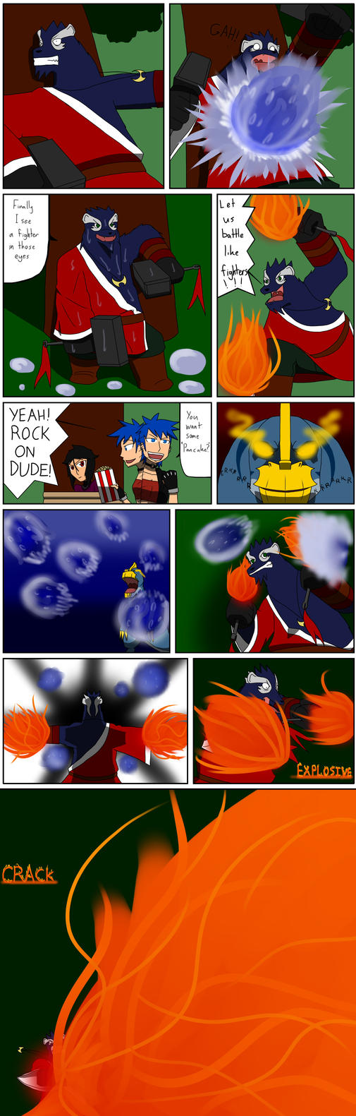 TDA Event 1: Battle of Fire and Water part 8 by SquirrelManiak