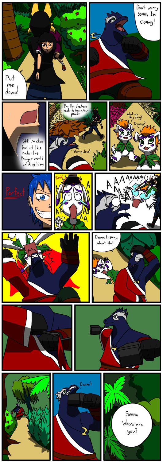 TDA Event 1: Battle of Fire and Water part 4 by SquirrelManiak