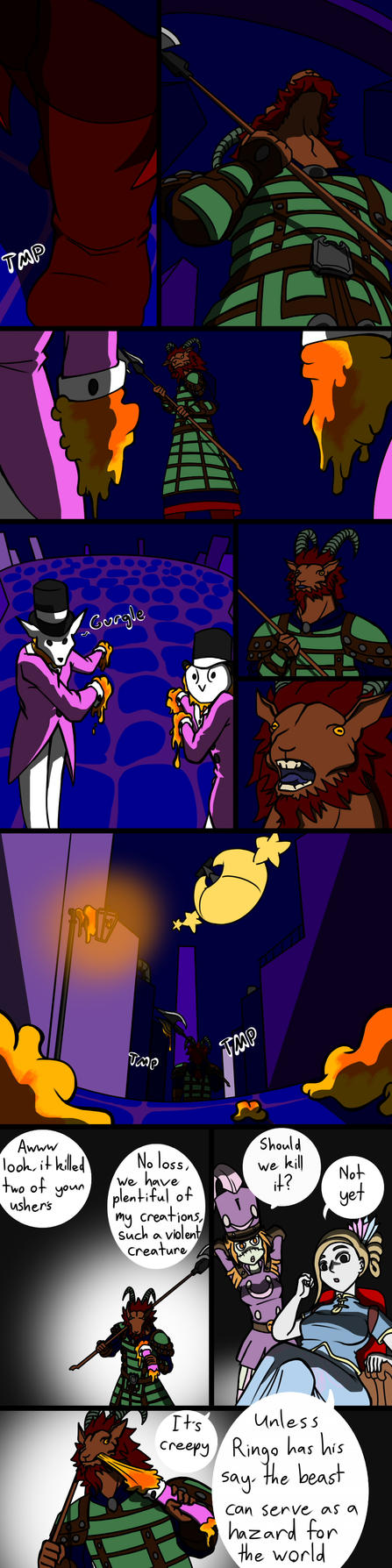 Cascade Cabaret: What of Goatman by SquirrelManiak