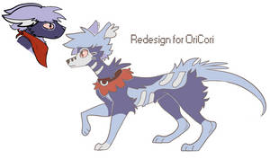 Redesign For Oricori by lUPISVUIPES