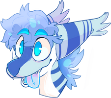 Headshot commission for oatmealchocchip by lUPISVUIPES