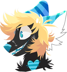 Fib Lineless Headshot comm for catastrophyte by lUPISVUIPES