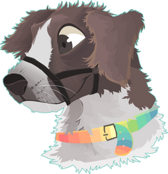 lineles drawing commission Cooper by lUPISVUIPES