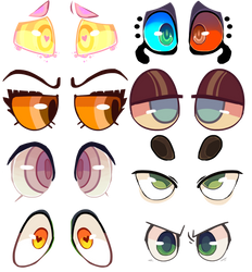 Eyes compilation by lUPISVUIPES