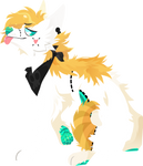 Lineless fullbody commission for catastrophyte