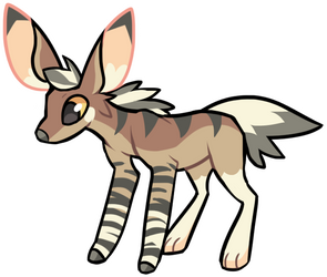 Bunny Zebra for Kitsugalaxy
