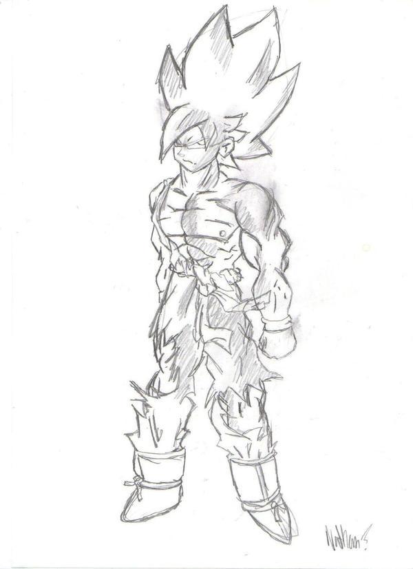 Goku SSJ by nate009