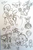 Doodlez Dump [2] by FezMangaka