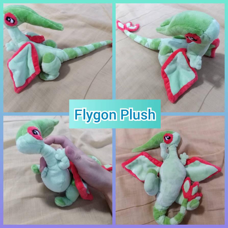 fa9aa5d49b72 Flygon Plush (His name is Lence) by FezMangaka on DeviantArt