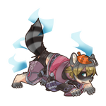 Commission- Shulk's Raccoon TF
