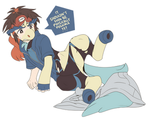 Giddy Up: Blake's Keldeo TF