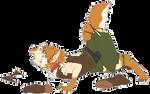 Cry for Help: Yosuke's Wolf TF