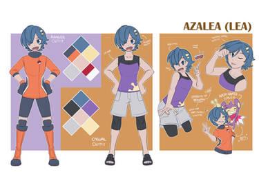 Rowan's Daughter: Azalea (Lea)