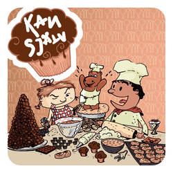 Coven baking book for children