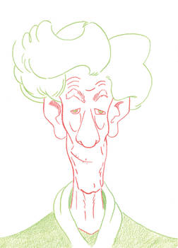 Portrait of Sir Ian McKellan