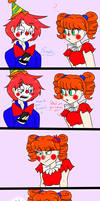 Ennard's Surprise (Fnaf sl comic) by DiaziKoix