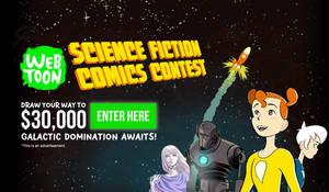 LINE Webtoon Science Fiction Comics Contest by madizzlee on DeviantArt