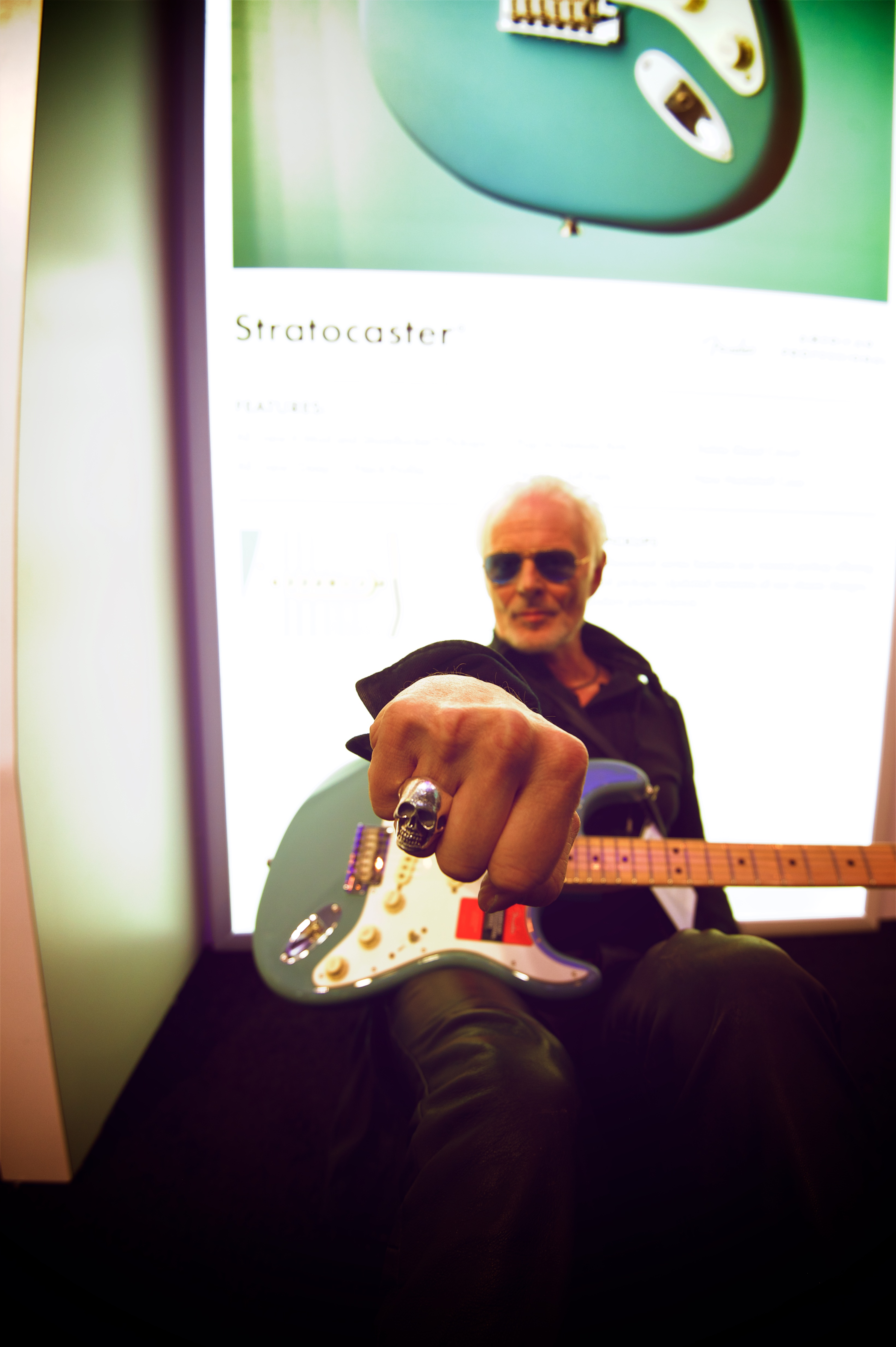 Stratospheric Stratocasters - MDB AS ROCK SENTINEL by techgnotic