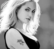 Angelina Jolie by Lestatslover84