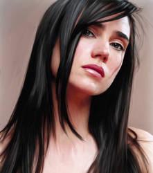 Jennifer Connelly by Lestatslover84
