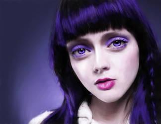 Purple Eyes by Lestatslover84