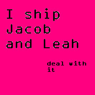 Leah and jacob by coolblue110