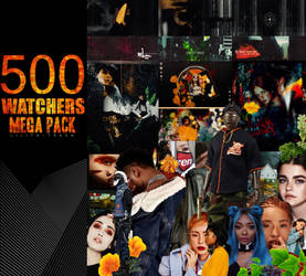 500 Watchers Megapack by LilithDemoness