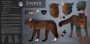 Ember    2018 Official Wildcat Reference by Aartcritique
