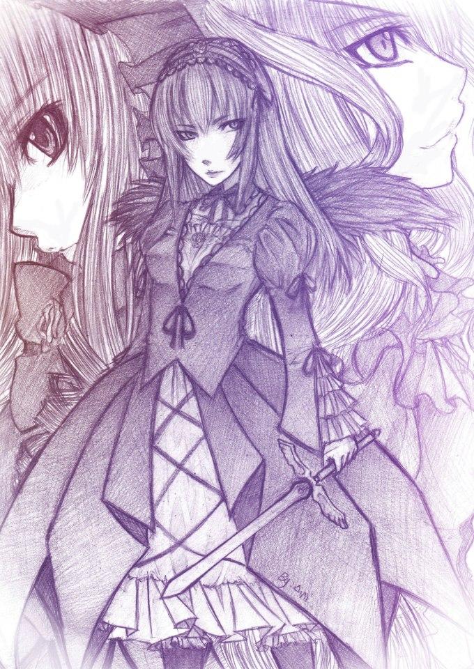 Rozen Maiden Fanart by Me ^_^ by MuiMushi