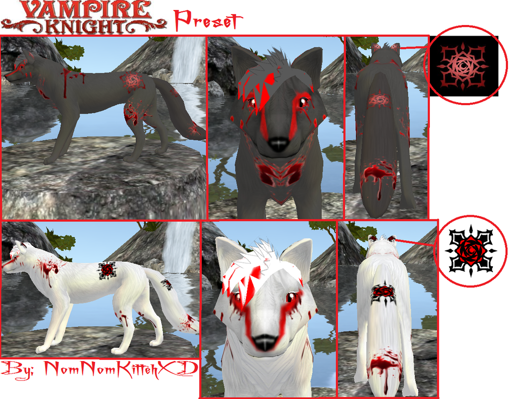 Vampire Knight Preset by BlueBRogue