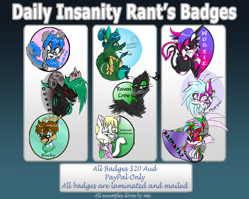 Badges Banner by BlueBRogue