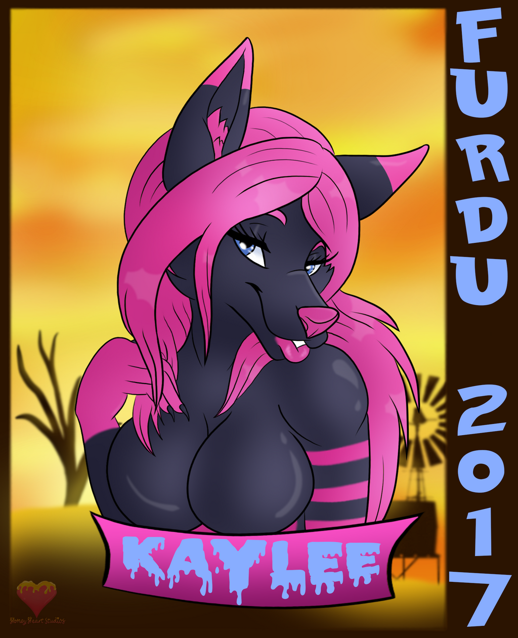 Kaylee FURDU badge 2017 by HoneyHeartStudios