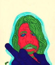Dave Grohl by SHINRA71
